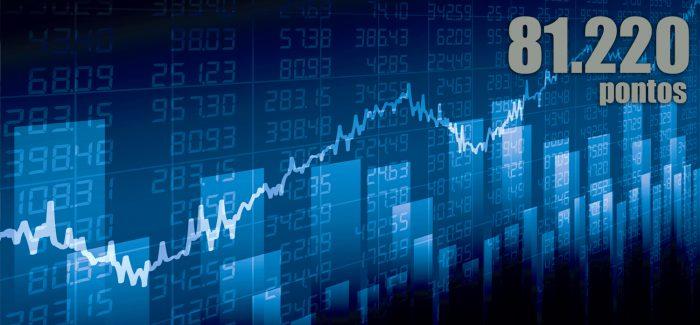 Bolsa termina semana com valorização de 2,36%