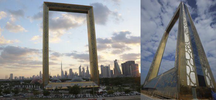 Maior porta retrato do mundo exalta a ostentação de Dubai