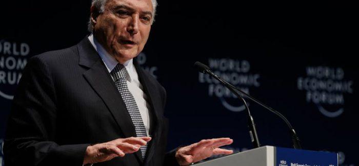 Temer prega cautela, mas admite ir à OMC contra taxação dos EUA