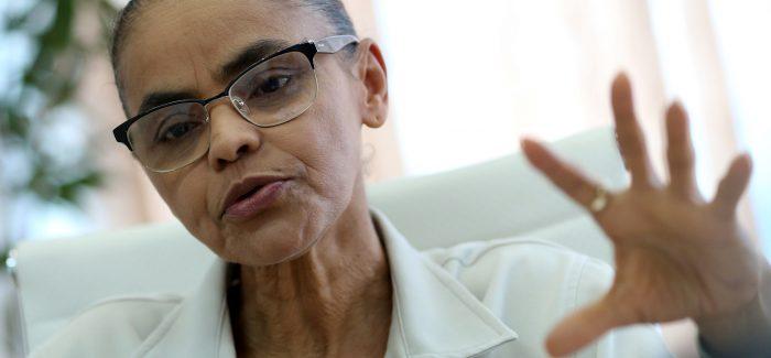 Marina Silva critica projeto de privatização da Eletrobras