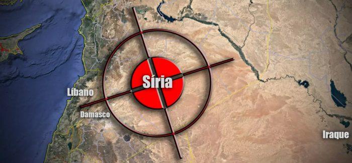 EUA, França e Reino Unido atacam a Síria