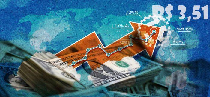 Dólar chega a R$ 3,50. Entenda os motivos
