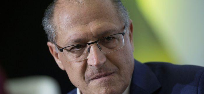 Alckmin elogia Rodrigo Maia de olho em aliança com o DEM