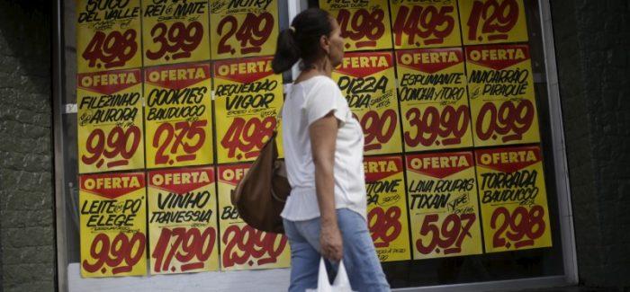 Prévia da inflação é a menor para outubro desde 1998, mostra IBGE
