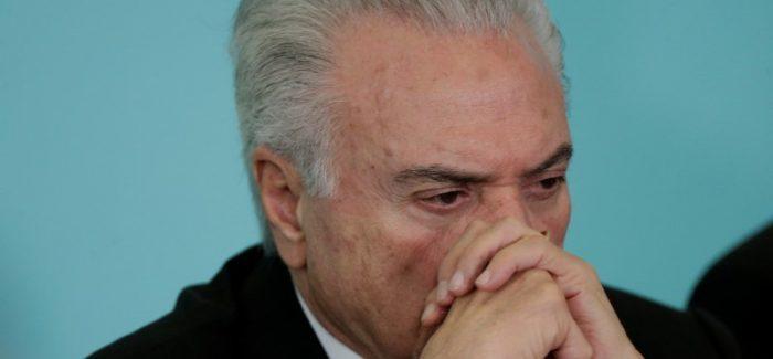 Temer revela seu medo ao deixar o Palácio do Planalto