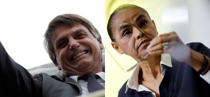 Investidores apostam em segundo turno entre Bolsonaro e Marina