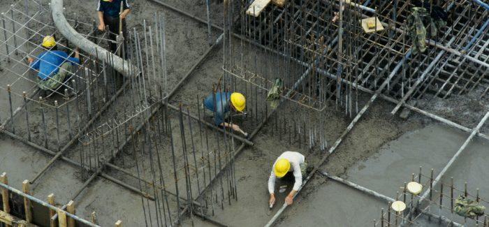 Confiança da construção sobe com mudança no cenário político