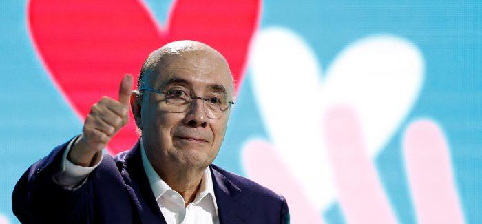 Meirelles diz que pode vencer eleição no 1º turno