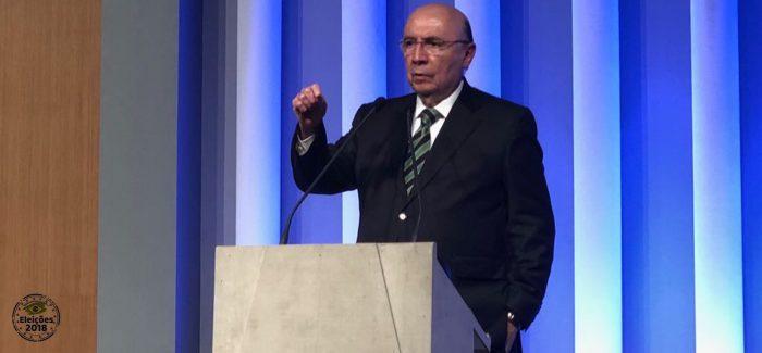 """Alckmin seria um grande vice-presidente"", diz Henrique Meirelles"
