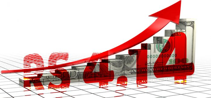BC intervém, mas dólar fecha perto de recorde histórico