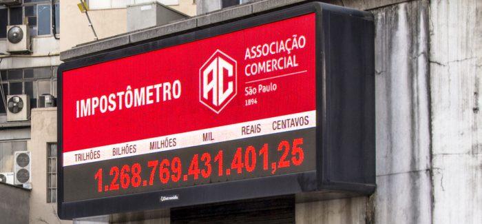 Receita de impostos no Brasil atinge o maior nível da década