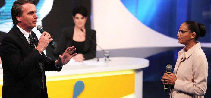 Bolsonaro e Marina lideram corrida presidencial, mostra Datafolha