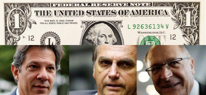 No pior dos mundos, dólar pode ultrapassar R$ 5 após eleição
