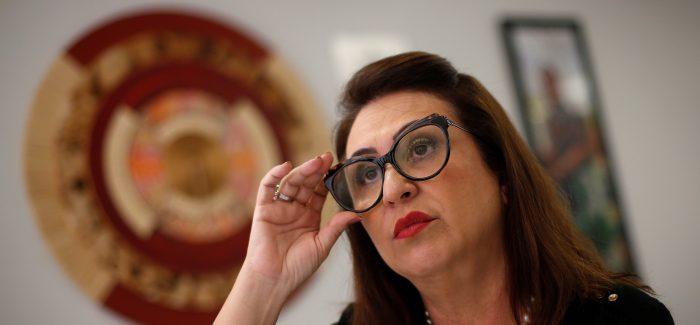 Kátia Abreu pede que Haddad desista de concorrer