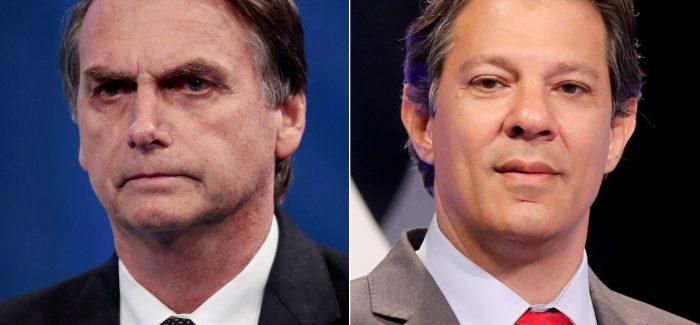 """Ex-presidente do Goldman Sachs vê Bolsonaro e Haddad como """"péssimos"""""""