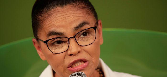 """Marina declara """"voto crítico"""" em Haddad"""