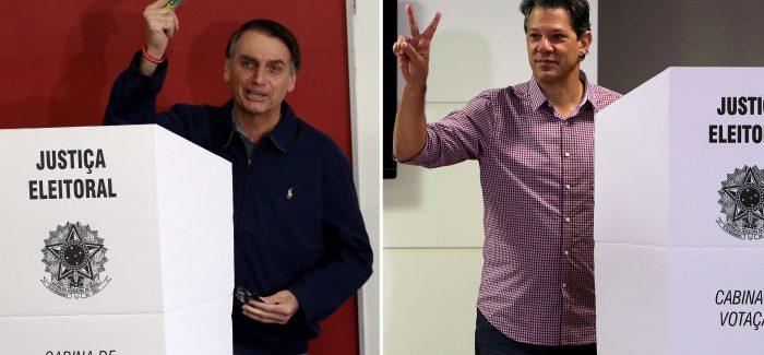 Bolsonaro aparece à frente de Haddad, mostra Ideia Big Data