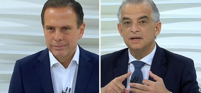 Ibope/Boca de urna: Doria tem 52% e França 48% dos votos válidos