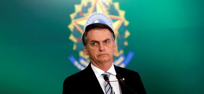 Bolsonaro diz que pretende aprovar fim da reeleição no Executivo