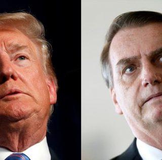 Trump deixa de seguir Bolsonaro no Twitter