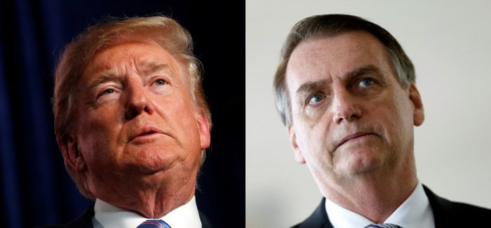 Assuntos internos podem travar aproximação entre Bolsonaro e Trump