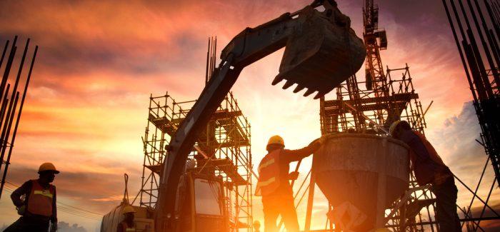 Confiança da construção atinge maior nível desde maio de 2014