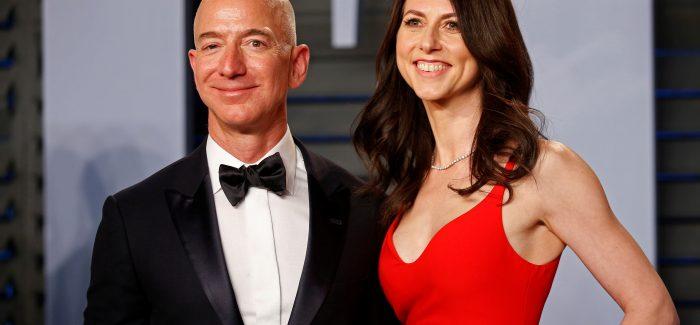 Divórcio pode fazer mulher de Bezos a mais rica do mundo