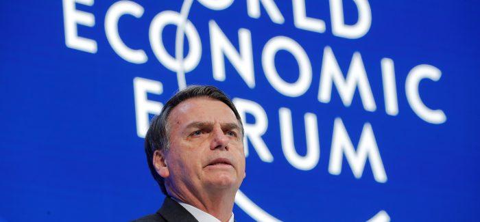 Bolsonaro diz que seu compromisso será abrir a economia