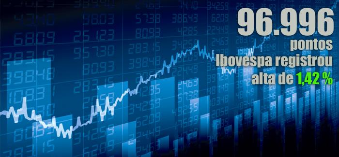 Vale e Estados Unidos impulsionam Ibovespa. Dólar futuro cai