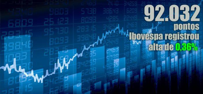 Ibovespa tem leve alta, mas renova recorde; dólar cai