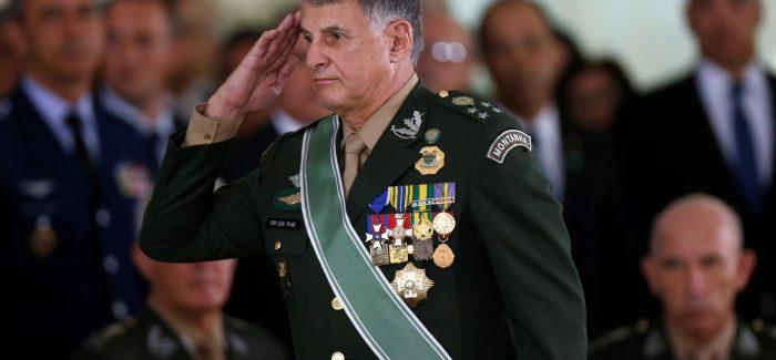 Novo comandante do Exército quer militares fora da reforma da Previdência