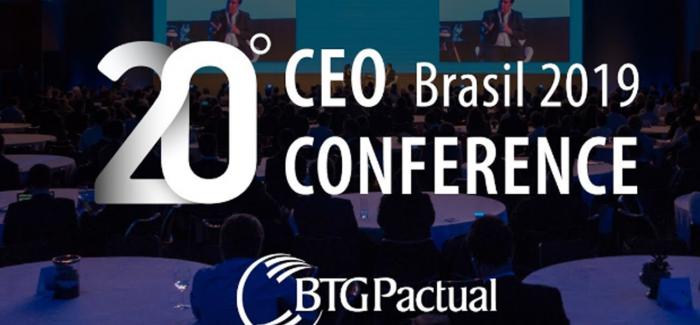 MONEY REPORT transmite ao vivo o 20º CEO Conference do BTG Pactual