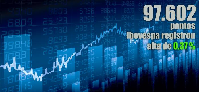 Ibovespa fecha em alta; dólar cai