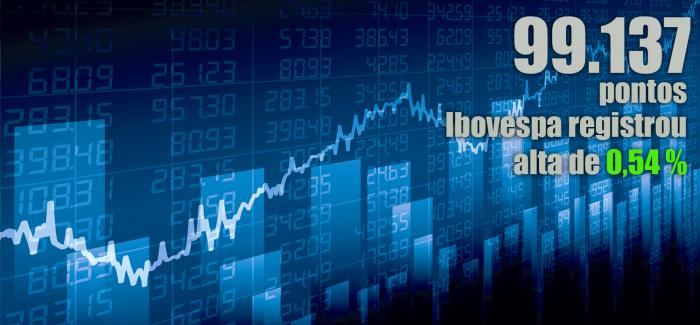Ibovespa fecha semana em alta e renova máxima histórica; dólar cai
