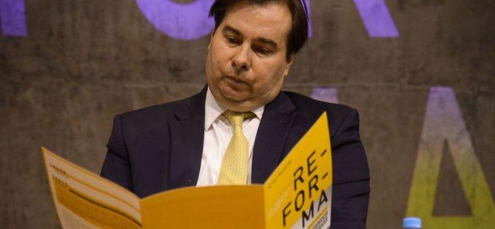Maia vai propor agenda positiva para destravar economia