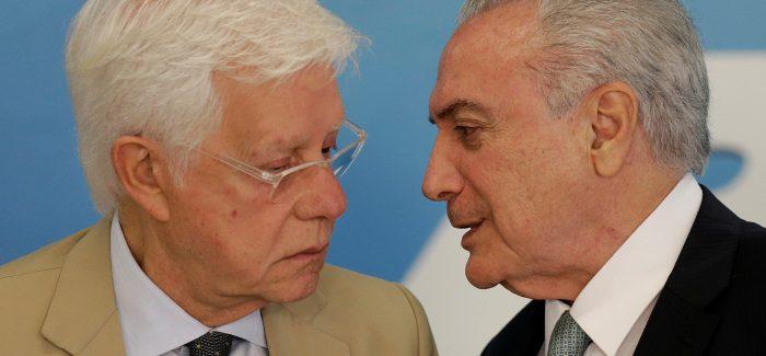 Temer e Moreira Franco se tornam réus na Lava Jato