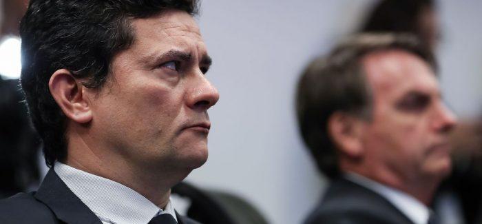 Bolsonaro diz que vai indicar Moro para o STF