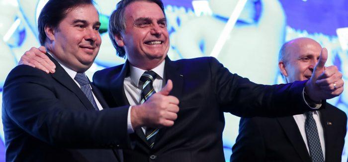 Maia diz ter três compromissos com o governo Bolsonaro