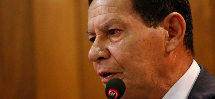 """""""Previdência vai mudar expectativas econômicas"""", diz Mourão"""