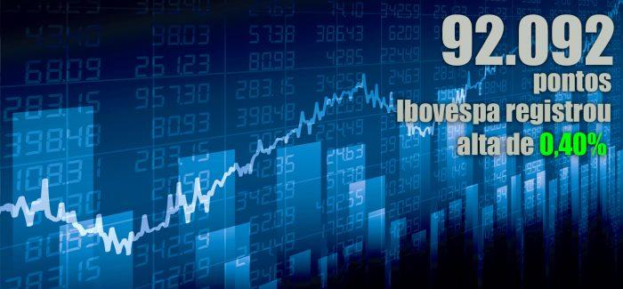 Bolsa sobe e minimiza perdas com alívio na guerra comercial