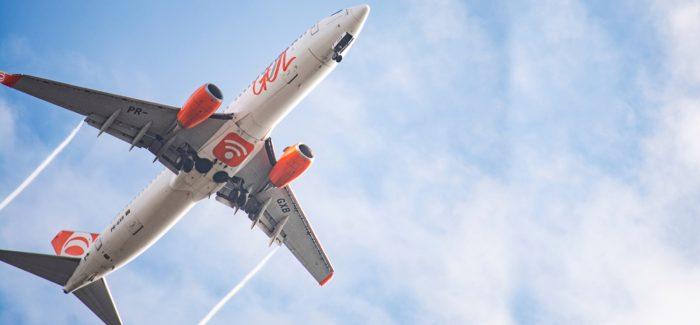 Taxa de ocupação em voos da Gol cresce em maio