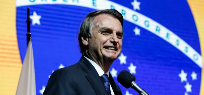 Em convenção de novo partido, Bolsonaro promete abertura comercial