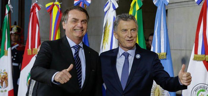 """Bolsonaro defende Mercosul """"sem ideologia e com mais resultados"""""""