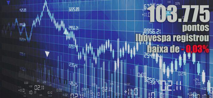 Ibovespa perde fôlego durante a sessão e fecha estável; dólar sobe