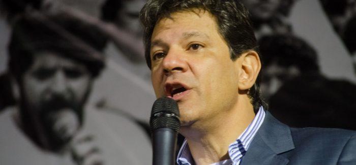 Haddad é condenado por crime de caixa dois na eleição municipal