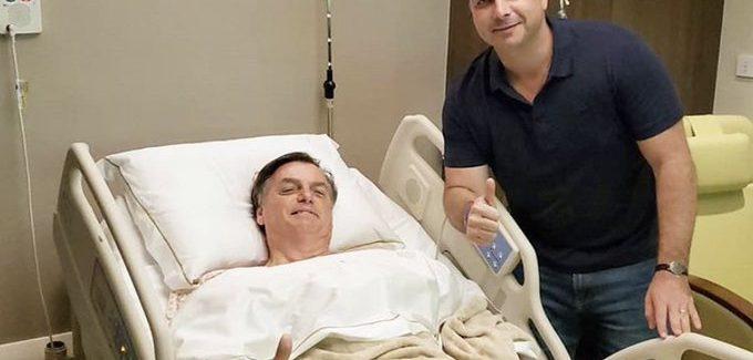 """""""Logo estarei de volta ao campo"""", diz Bolsonaro após cirurgia"""