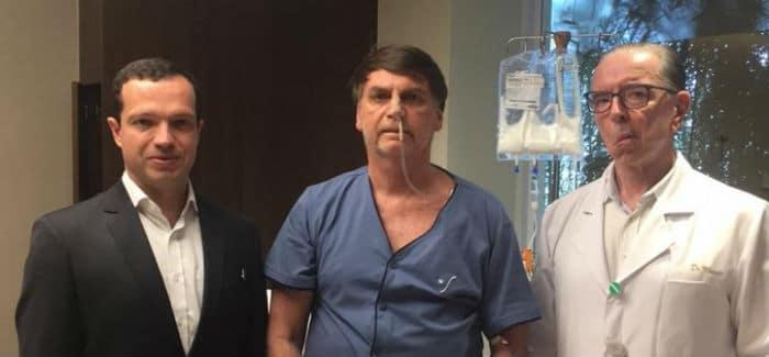 Com sonda retirada, Bolsonaro avança em recuperação de cirurgia