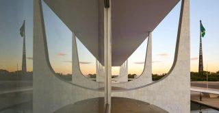 (Brasília - DF, 31/03/2020) Alvorada no Palácio do Planalto. Foto: Anderson Riedel/PR