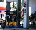São Paulo - Posto de gasolina em Pinheiros.