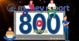 Capinha 800 vídeos